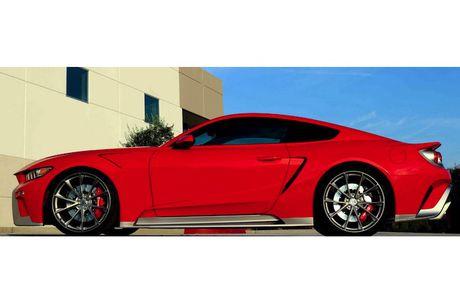 Ford Mustang GT 'lot xac' sieu xe Ford GT hang khung - Anh 3