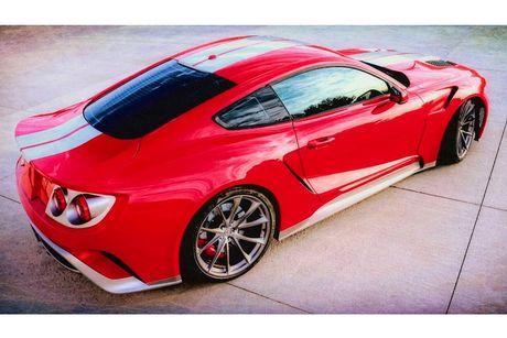 Ford Mustang GT 'lot xac' sieu xe Ford GT hang khung - Anh 8