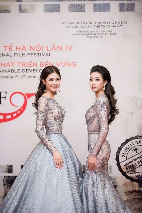 Dien vien Minh Tiep lich lam ben Hoa hau Do My Linh, A hau Thanh Tu - Anh 4
