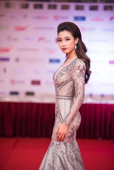 Dien vien Minh Tiep lich lam ben Hoa hau Do My Linh, A hau Thanh Tu - Anh 5