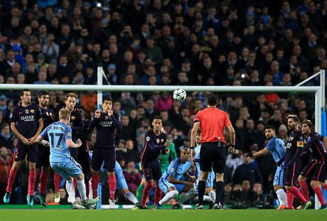 Man City lan dau ha guc Barcelona - Anh 3