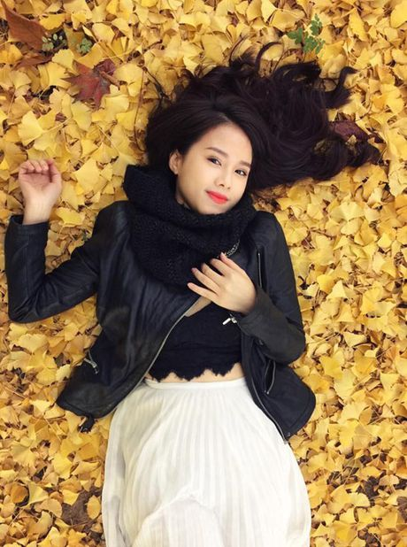 MC Bao Linh thang nao cung du lich Han Quoc - Anh 1