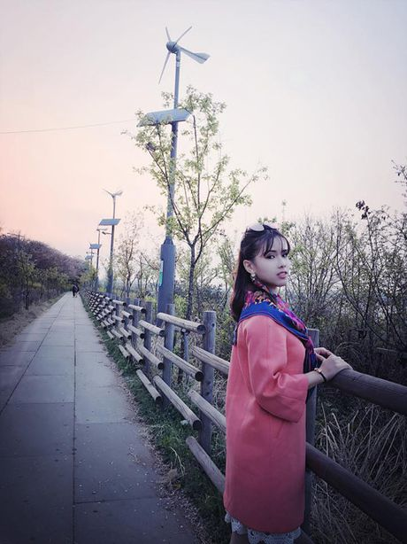 MC Bao Linh thang nao cung du lich Han Quoc - Anh 7