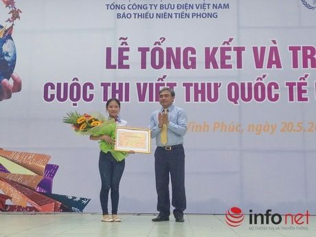 Cong bo chu de cuoc thi viet thu UPU lan thu 46 nam 2017 - Anh 1