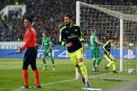 Ludogorets – Arsenal: Nguoc dong dang cap - Anh 1