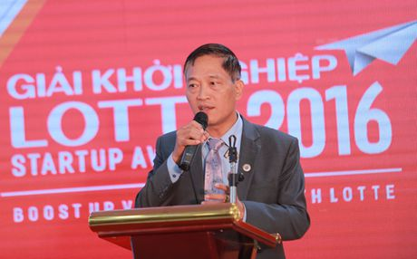 Trao Giai Khoi nghiep Lotte 2016 – Lotte Startup Awards 2016 - Anh 1