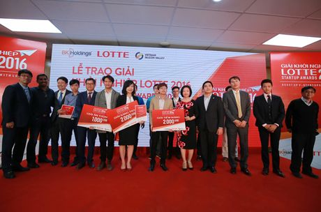 Trao Giai Khoi nghiep Lotte 2016 – Lotte Startup Awards 2016 - Anh 2