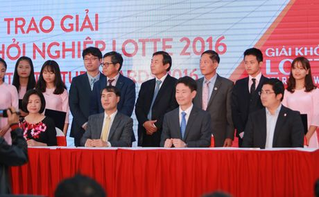 Trao Giai Khoi nghiep Lotte 2016 – Lotte Startup Awards 2016 - Anh 3