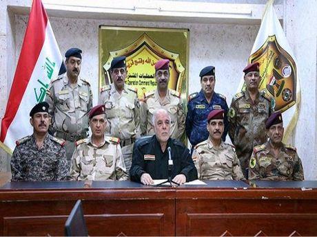 Thu tuong Iraq: Phien quan IS hoac dau hang hoac chet - Anh 1