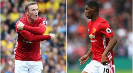 Rashford: 'Rooney la cau thu hay nhat toi tung biet' - Anh 1