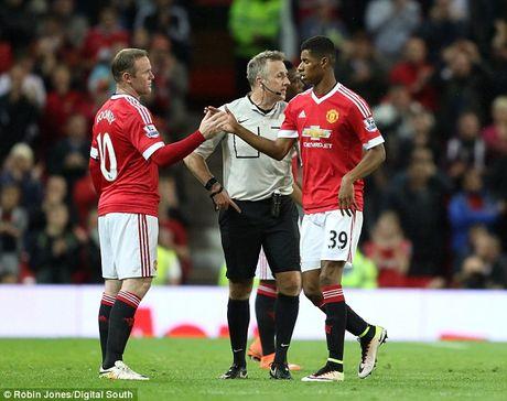 Rashford: 'Rooney la cau thu hay nhat toi tung biet' - Anh 3