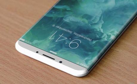 Lo ban concept iPhone 8 voi man hinh cong khong duong vien - Anh 1