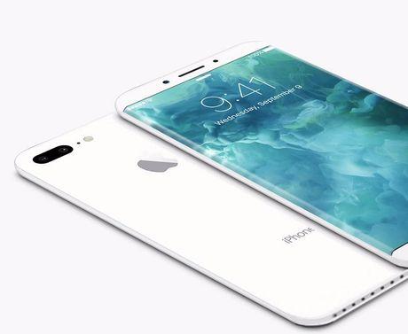 Lo ban concept iPhone 8 voi man hinh cong khong duong vien - Anh 2
