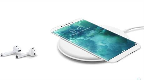 Lo ban concept iPhone 8 voi man hinh cong khong duong vien - Anh 4