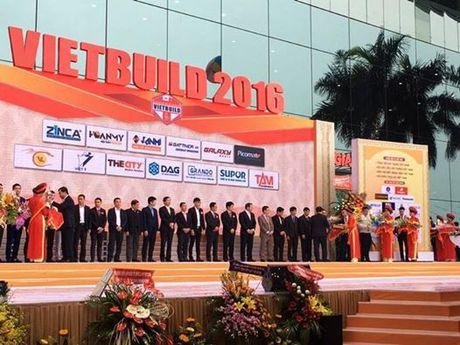 Tham quan gian hang noi that chau Au Dream World tai Vietbuild thang 11/2016 - Anh 1