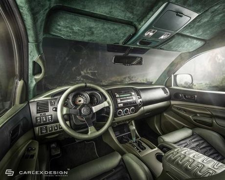 Ban tai Toyota Tacoma do phong cach off-road quy toc - Anh 2