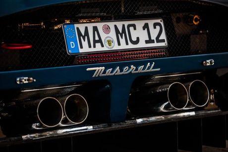 Xuat hien ban do cuc manh cua sieu xe Maserati MC12 VC - Anh 16