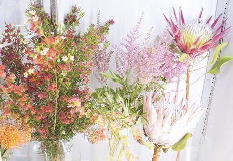 Ra mat shop hoa co thiet ke la mat Casablanca Flowers tai TP.HCM - Anh 9