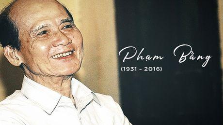 NSND Khai Hung ke noi so lon nhat cuoc doi cua nghe si Pham Bang - Anh 1