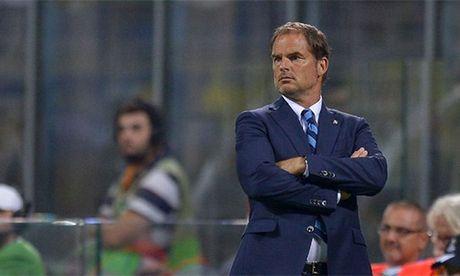 Inter Milan sa thai HLV Frank de Boer - Anh 1