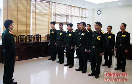 30 quan nhan tham gia Hoi thi Can bo chinh sach gioi - Anh 1