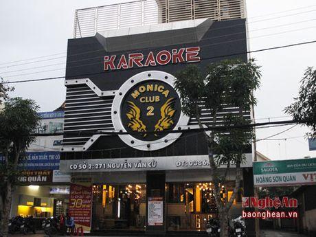 Karaoke o thanh pho Vinh: Kiem tra ra sai pham - Anh 1