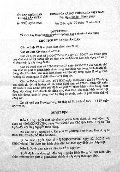 Binh Duong: Xin cap Giay phep xay phong tro- Ai co qua cau moi hay - Anh 1