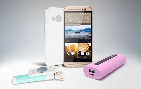 HTC One ME - Vu khi tam trung nang ki dau voi Galaxy J7 Prime duoc... tai len ke - Anh 1