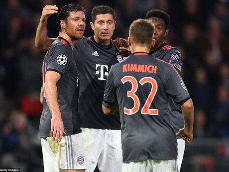 Bayern,Arsenal cung nguoc dong ngoan muc tren san khach - Anh 1