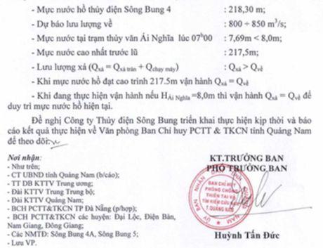 Quang Nam: Cac thuy dien dong loat xa lu - Anh 2