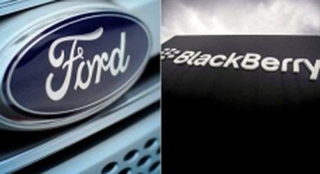 BlackBerry hop tac voi Ford phat trien xe hoi tu lai - Anh 1