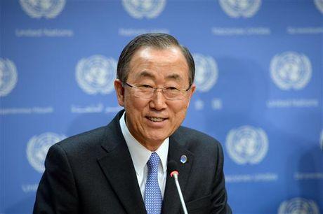 Ong Ban Ki moon gap kho neu tranh cu tong thong Han Quoc - Anh 2