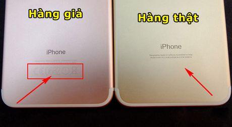 Huong dan phan biet iPhone 7 Plus that va gia - Anh 2
