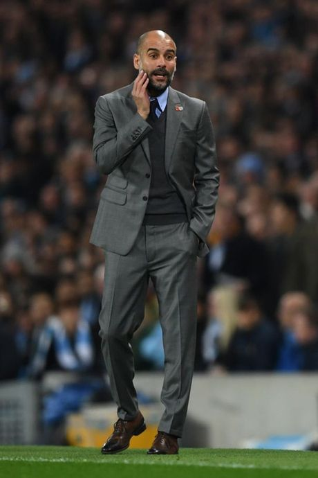 8 sac thai cam xuc cua Pep Guardiola trong ngay Man City ha Barcelona - Anh 6