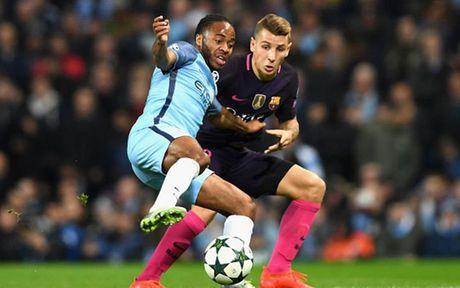 Cham diem Man City 3-1 Barca: Kevin de Bruyne che mo Messi - Anh 15