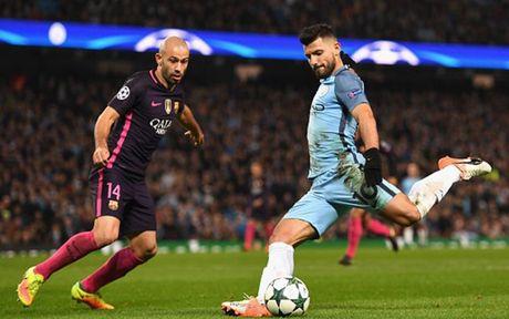 Cham diem Man City 3-1 Barca: Kevin de Bruyne che mo Messi - Anh 16