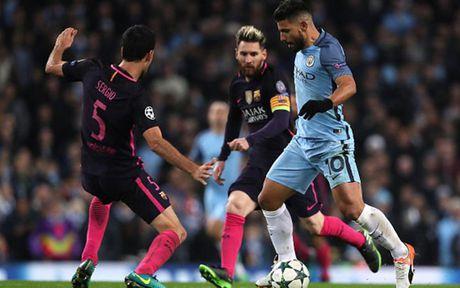 Cham diem Man City 3-1 Barca: Kevin de Bruyne che mo Messi - Anh 20