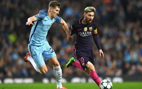 Cham diem Man City 3-1 Barca: Kevin de Bruyne che mo Messi - Anh 4
