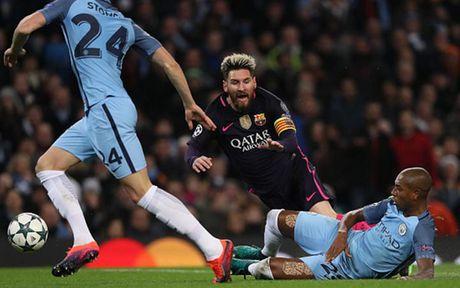 Cham diem Man City 3-1 Barca: Kevin de Bruyne che mo Messi - Anh 7