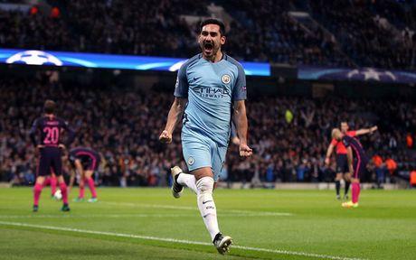 Cham diem Man City 3-1 Barca: Kevin de Bruyne che mo Messi - Anh 8