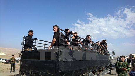 Tuyen phong thu IS bi vo, quan dac nhiem Iraq tien vao Mosul - Anh 1