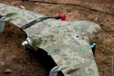 Nga: Quan khu mien Dong tiep nhan lo UAV cho hoat dong trinh sat - Anh 1