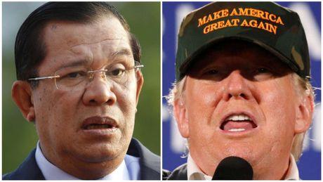 Ong Hun Sen thich Donald Trump lam tong thong My - Anh 1