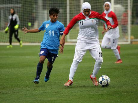 An Do chia diem voi Iran tran mo man vong loai U19 nu chau A 2017 - Anh 1