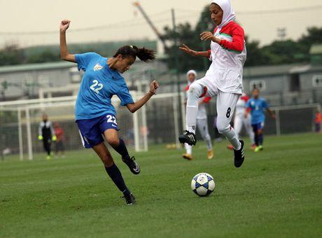 An Do chia diem voi Iran tran mo man vong loai U19 nu chau A 2017 - Anh 2