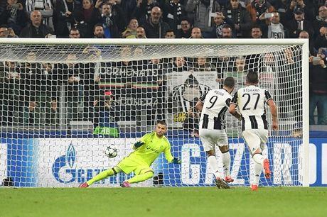 Higuain no sung, Juventus van bi cam hoa tren san nha - Anh 1