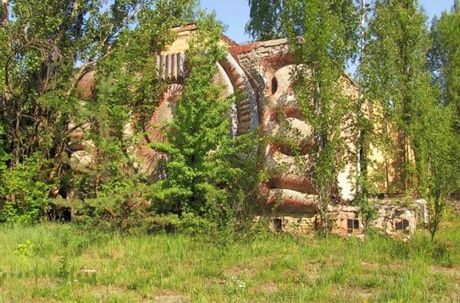 Thi tran Pripyat 30 nam sau tham hoa hat nhan Chernobyl - Anh 9