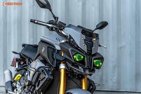 Yamaha MT-10 - Transformer 2 banh gia 557 trieu dong - Anh 3