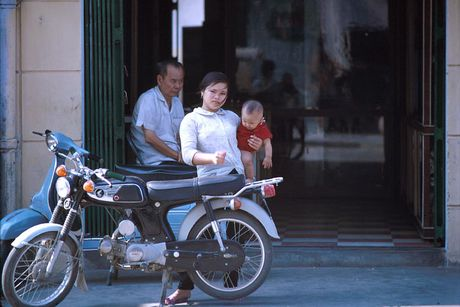 Bo anh cuc doc ve xe may o Nha Trang nam 1969 - Anh 13