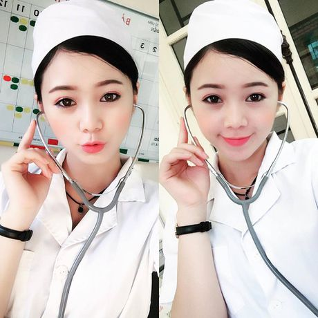 Hot girl 'Vo nguoi ta' khoe mat moc xinh dep kho tin - Anh 8